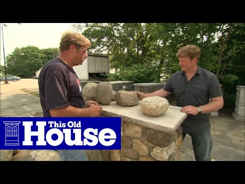 How to Choose Materials for a Stone Wall - This Old House