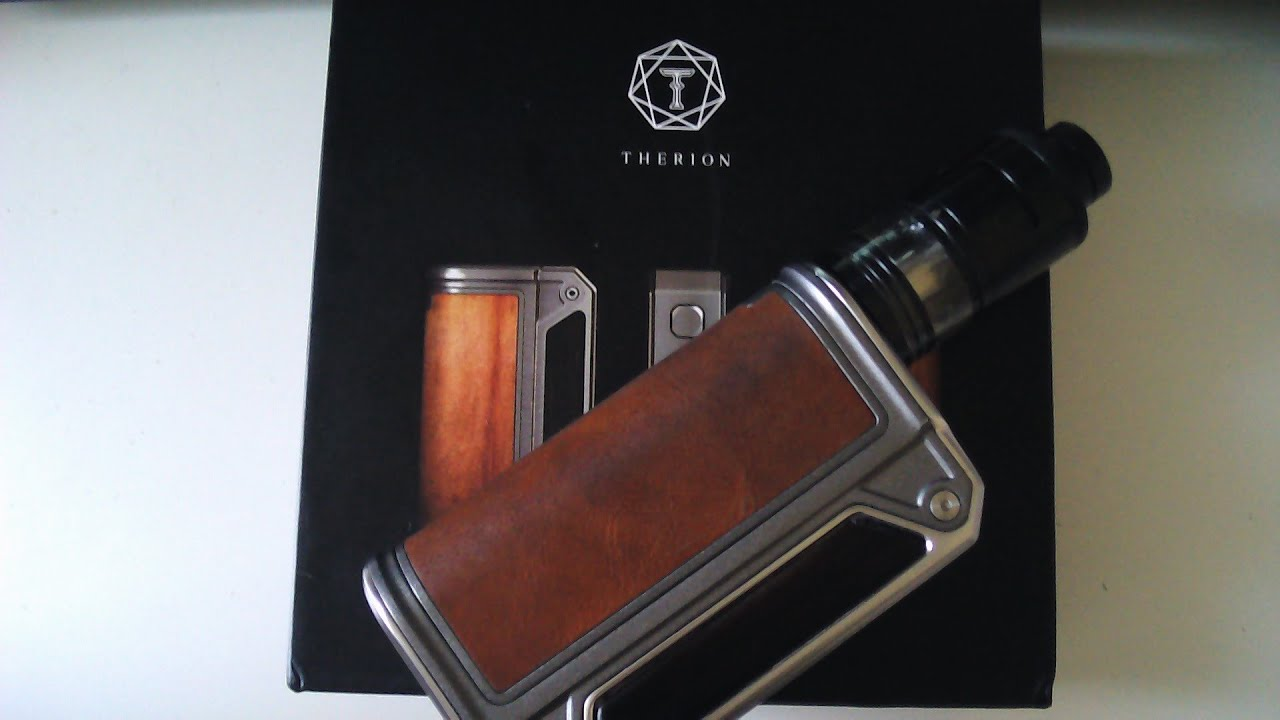 Therion DNA 75 - Super cool parallel box mod from Lost Vape  by Tim  Mackenzie