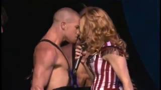madonna : die another day : re - invention world tour live at lisbon portugal 12+13/09/2004 :