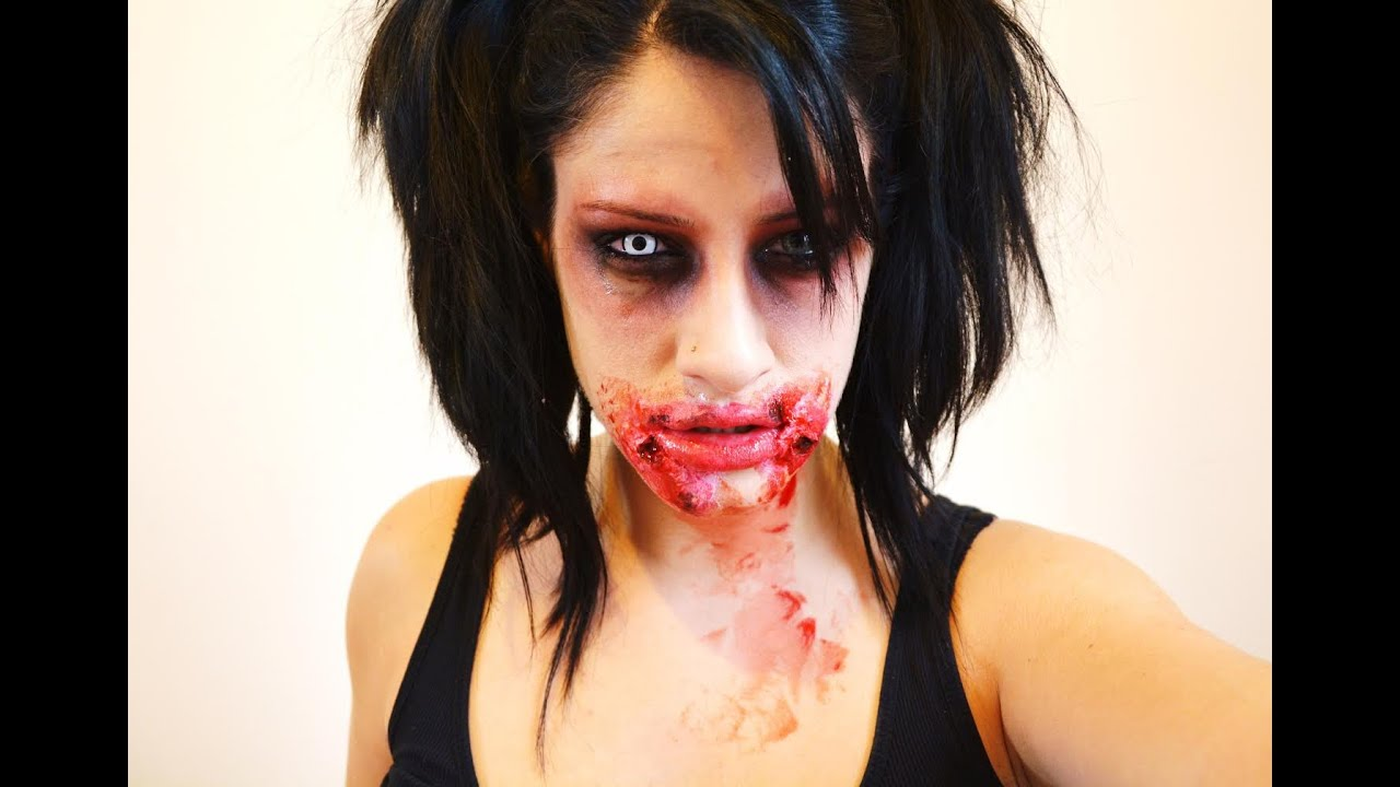 maquillage halloween zombie effets sp ciaux youtube. Black Bedroom Furniture Sets. Home Design Ideas
