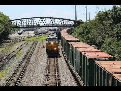 Coal & Foreign Power:Philadelphia Area Railfanning 8/13/16