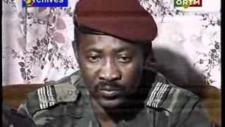 Amadou Toumani Toure quelques jours apres le coup d Etat militaire au Mali de 1991 thumbnail