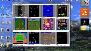 Advanve MEMU 1000 Arcade Games