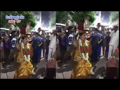 Jogini Nisha Kranthi Bonalu Dance 2018
