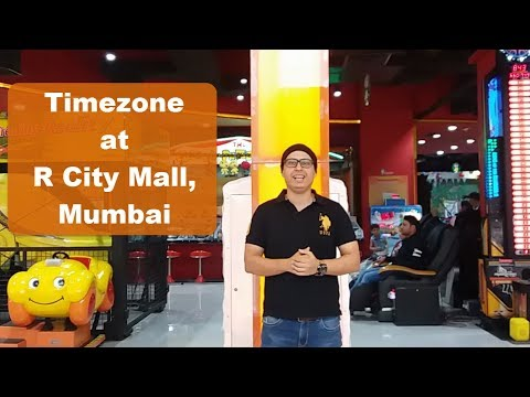 Timezone At R City Mall | Fun, Games, Rides, Bowling, Party (Hindi)