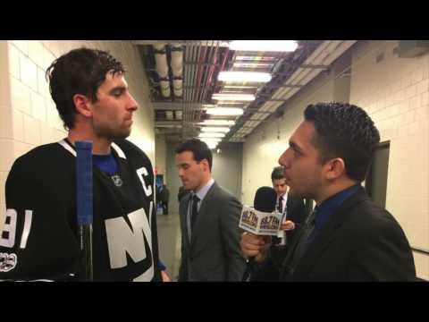 Interview with John Tavares
