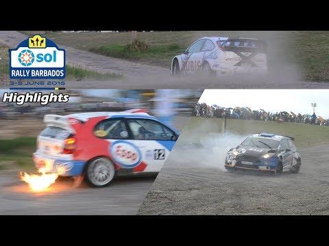 Sol Rally Barbados 2016 - Highlights (Feat. Elfyn Evans and Simon Jean-Joseph)
