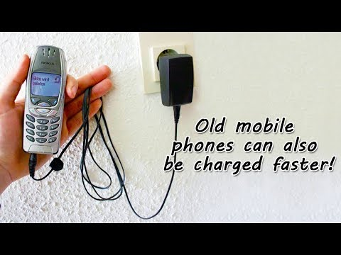 Old mobile phones can also be charged faster | Mobile phone charger