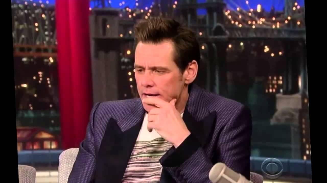 Jim Carrey on David Letterman Show 2014 Full