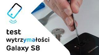 Samsung Galaxy S8 - test wytrzymałości / CrashTest Samsung Galaxy S8 #crashtest