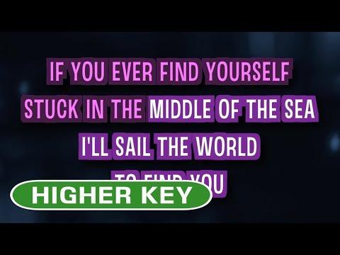 Count On Me (Karaoke Higher Key) - Bruno Mars