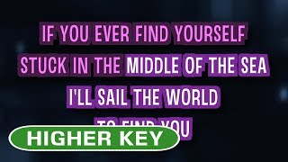 Download Lagu Count On Me (Karaoke Higher Key) - Bruno Mars mp3