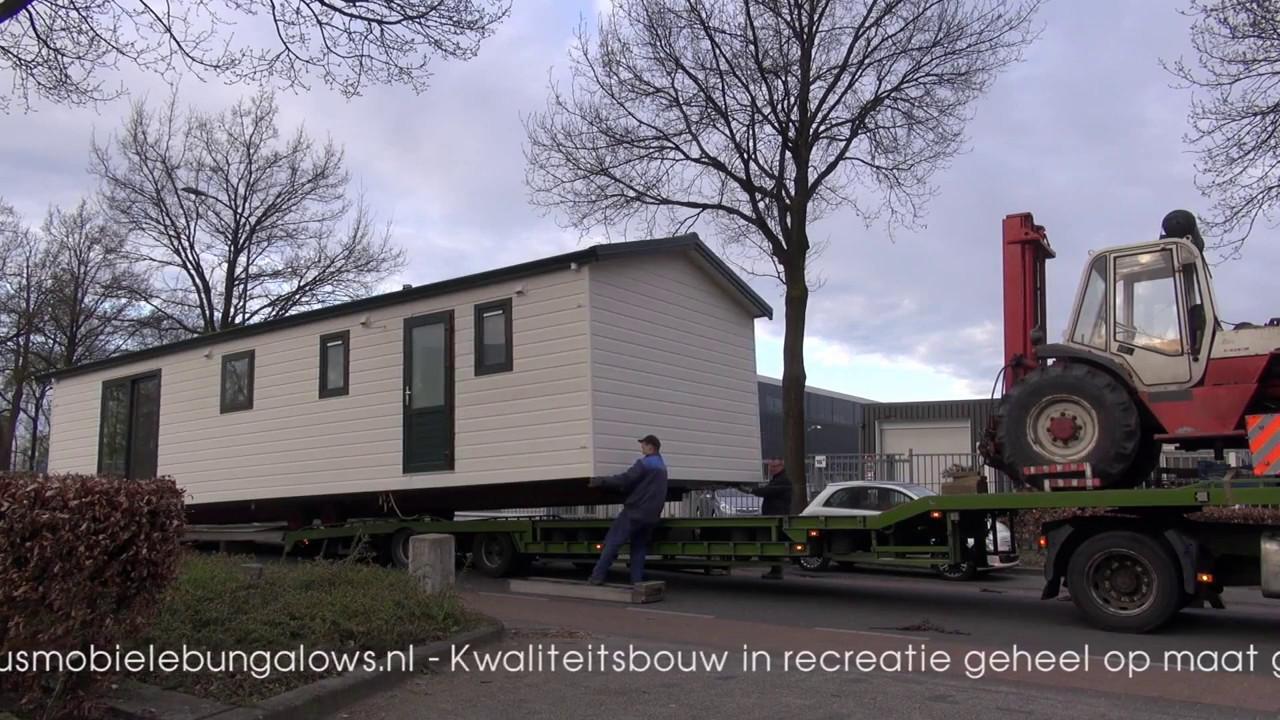 Chalet te koop bekius mobiele bungalows transport en for Mobiele chalet te koop