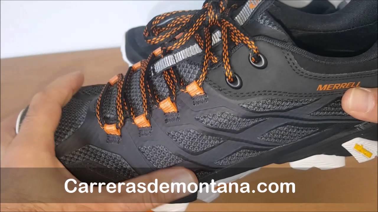 Merrell Moab FST Goretex: Zapatillas trail y senderismo. Análisis Carrerasdemontana com