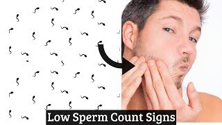 7 Common Low Sperm Count Signs That You Should Notice | Male Infertility