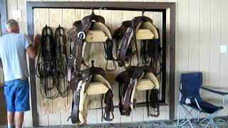 Custom Design Rotating Saddle Rack From Skiver Contracting In North Georgia