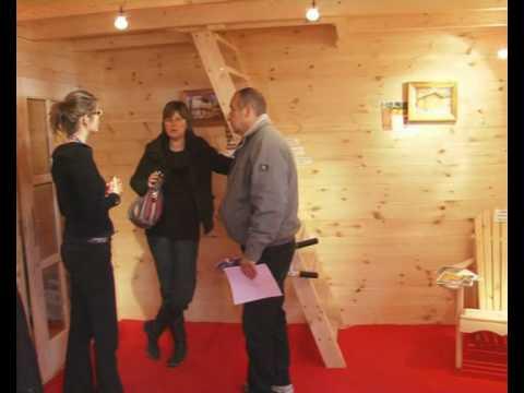 euro l 39 europ enne de chalets la foire de paris 2010 youtube. Black Bedroom Furniture Sets. Home Design Ideas