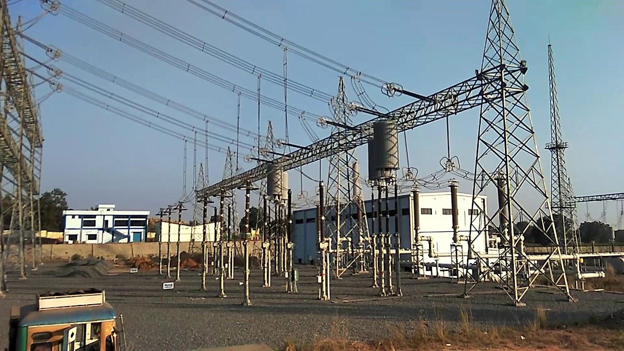 GIS Material unloading at 400kV GIS Substation PGCIL Chandwa,Jharkhand,India