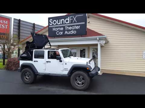 2015 Jeep Wrangler Power Auto-Opening Convertible Soft Top!