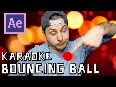 After Effects Tutorial - Karaoke Bouncing Ball