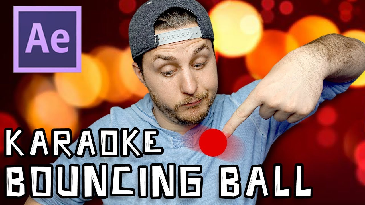 Download After Effects Tutorial - Karaoke Bouncing Ball