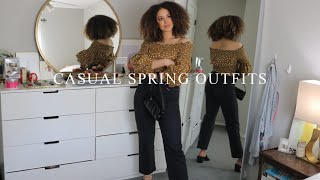 CASUAL SPRING OUTFITS 2020 | Zara, ASOS, Levis, & Other Stories
