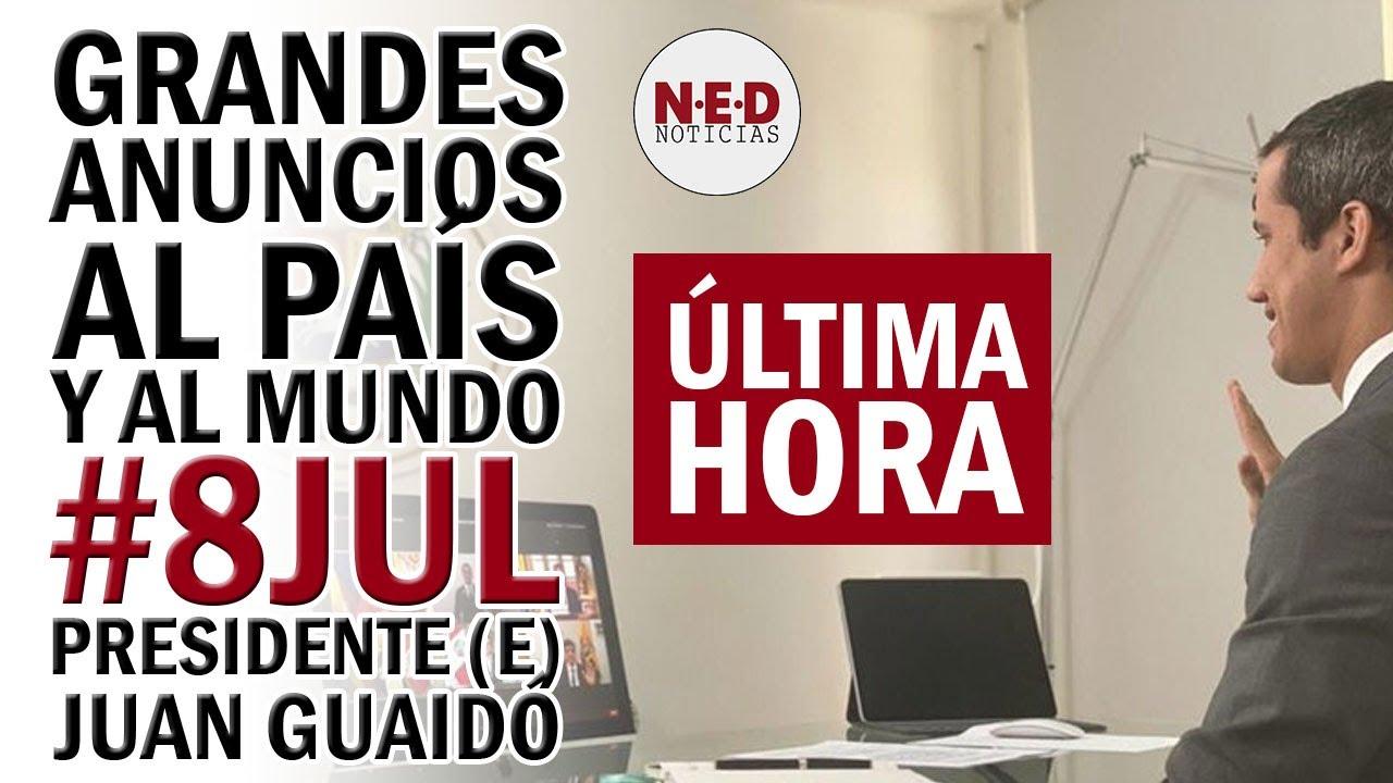 GRANDES ANUNCIOS JUAN GUAIDÓ #8JUL AL PAÍS Y AL MUNDO