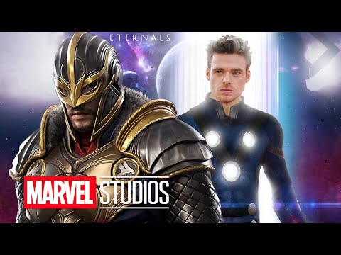 Описание объявления Marvel о Мстителях: Вечные - Пасхальные яйца, Фаза 4 Marvel