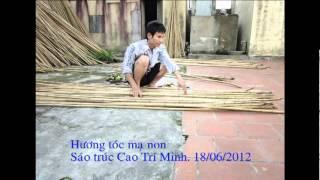 Hương tóc mạ non - sáo trúc Cao Trí Minh.