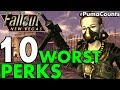 Top 10 Worst Perks to Have in Fallout: New Vegas (Worst Perks Guide) #PumaCounts