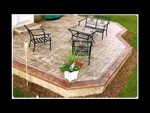 Concrete patio ideas