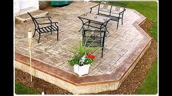Concrete patio ideas