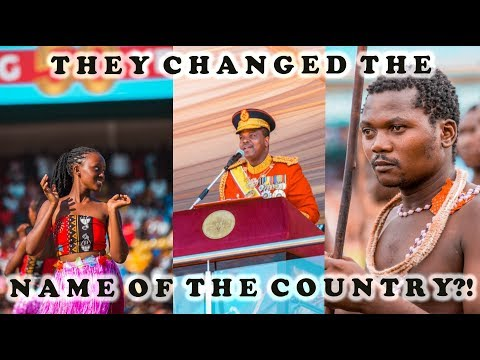 The day Swaziland became the Kingdom of eSwatini! | Swaziland 50/50 Celebrations