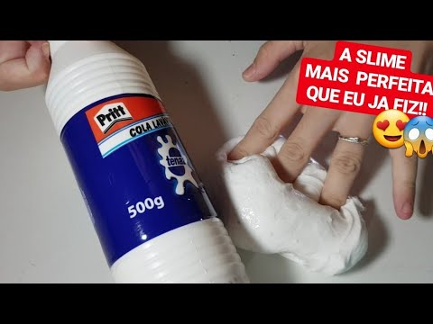 TESTEI A NOVA FÓRMULA DA COLA DA PRITT!! - Marcelli Becker