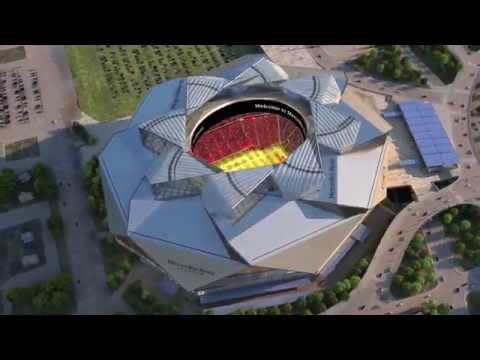 Preview of the New Mercedes-Benz Stadium
