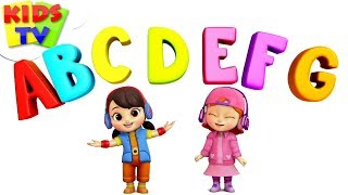 ABC Song | Boom Buddies Cartoons | Kindergarten Songs | Learning Videos For Children by Kids Tv