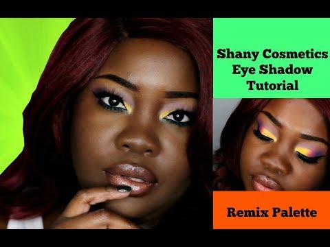 Summer Rainbow Eyeshadow Tutorial   Shany Cosmetics