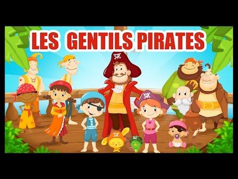 Les gentils pirates - Comptines et chansons avec les pirates pour les enfants - Titounis