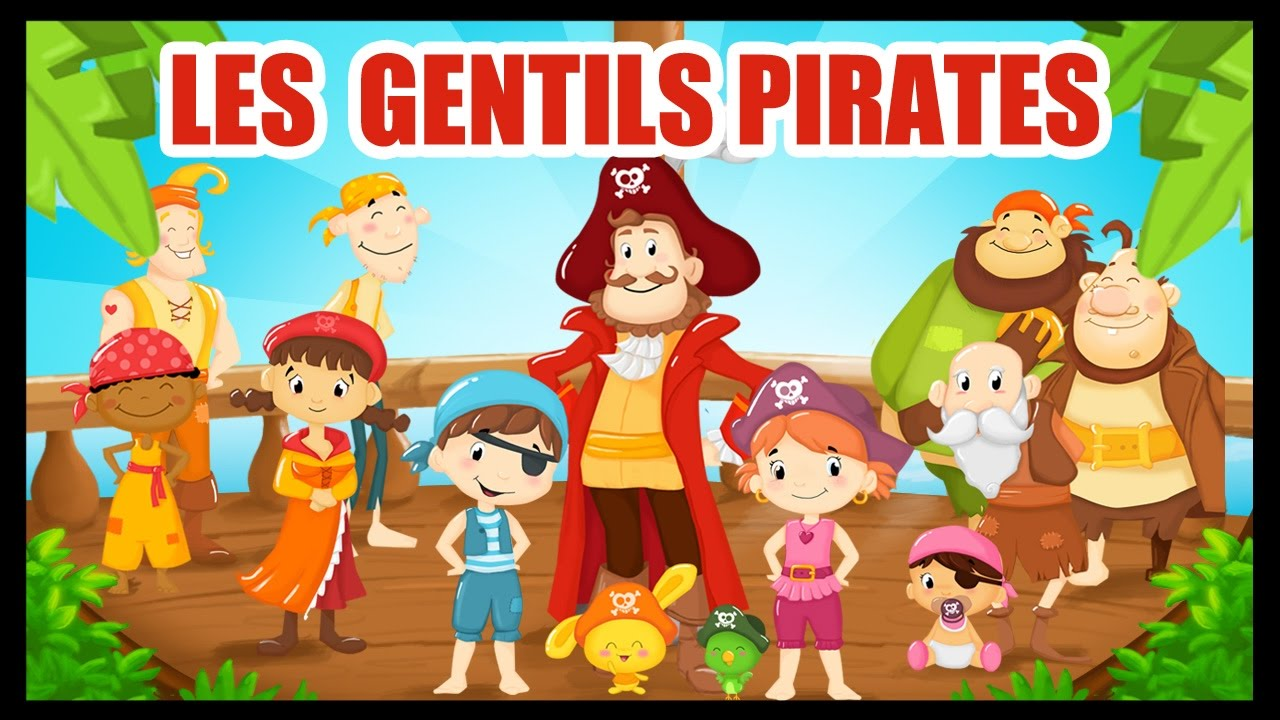 Les gentils pirates comptines et chansons avec les - Jack et le pirate ...