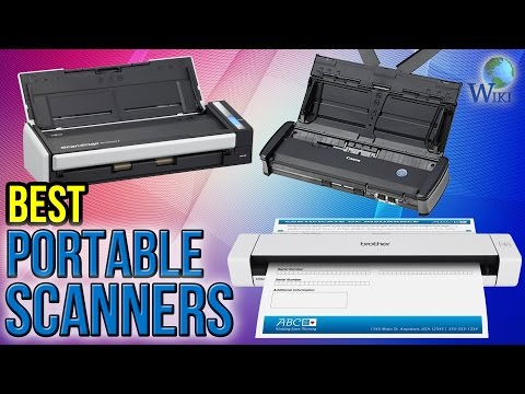10 Best Portable Scanners 2016