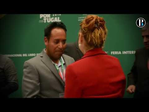 Narrador indígena mexicano es galardonado con un premio en la FIL de Guadalajara