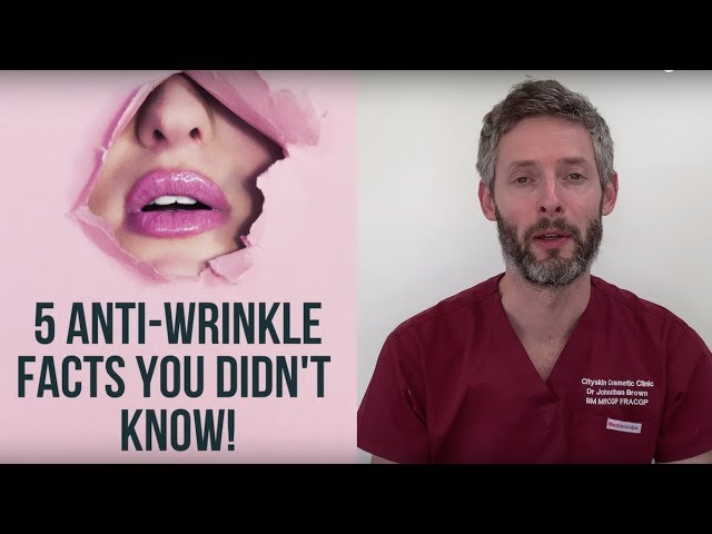 5 interesting anti-wrinkle facts you didn't know!