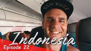 LEAVING WAKATOBI INDONESIA (3 FLIGHTS) + SPECIAL ANNOUNCEMENT | INDONESIA VLOG SE02 EP22