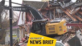 Former McDonald's gets demolished