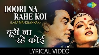 Doori Na Rahe Koi with lyrics | दूरी न रहे कोई के बोल | Kartavya | Lata Mangeshkar,Rekha (Speak)