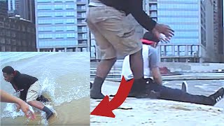 SMACKING/SLAPPING PEOPLE IN PUBLIC with SUNSCREEN(dobre brothers beach pranks)