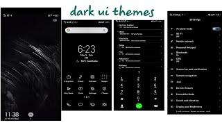 Vivo theme #Dark ui Theme 2019 Download link 👇 description box