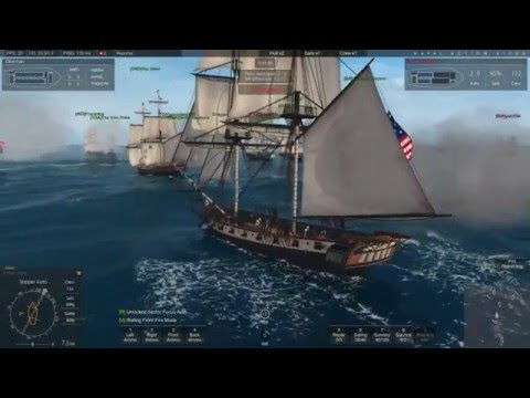 Naval Action: Port Battle: 28 MAR  2016: Walkers Cay: US vs Pirates: Successful defense....