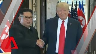 Trump-Kim summit: Donald Trump, Kim Jong Un sign