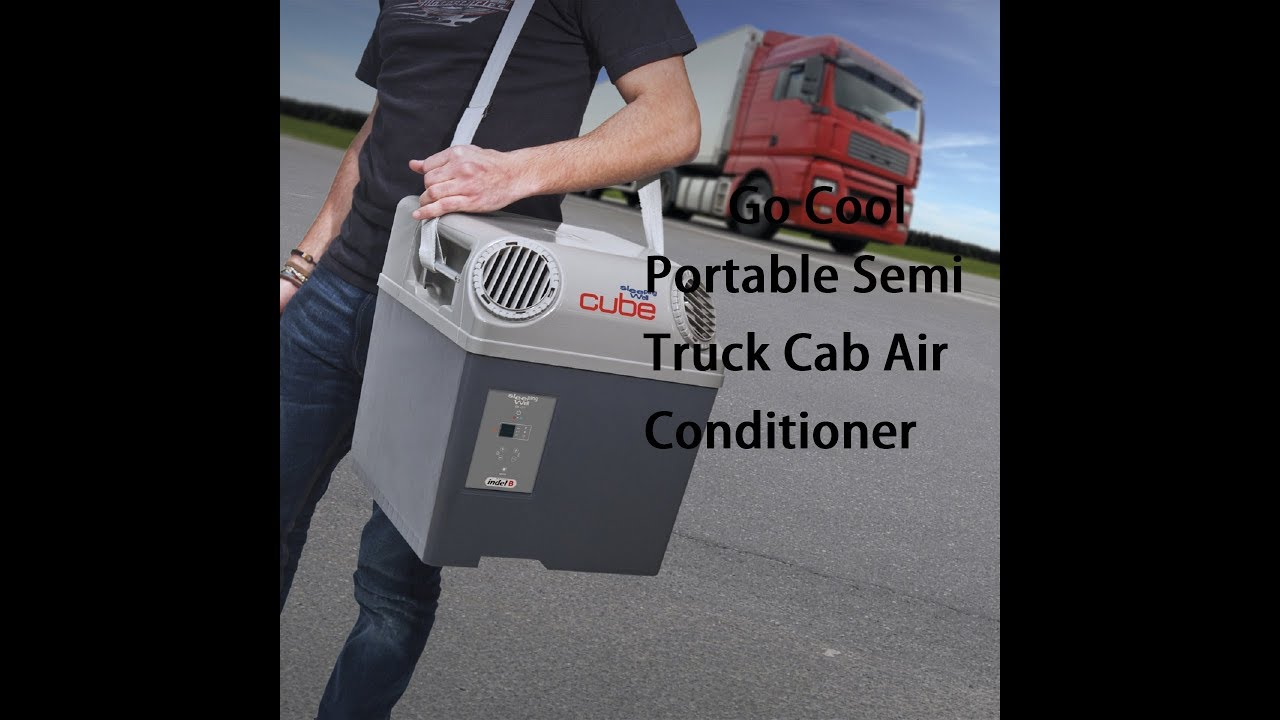 Go cool portable semi truck cab air conditioner youtube go cool portable semi truck cab air conditioner publicscrutiny Images